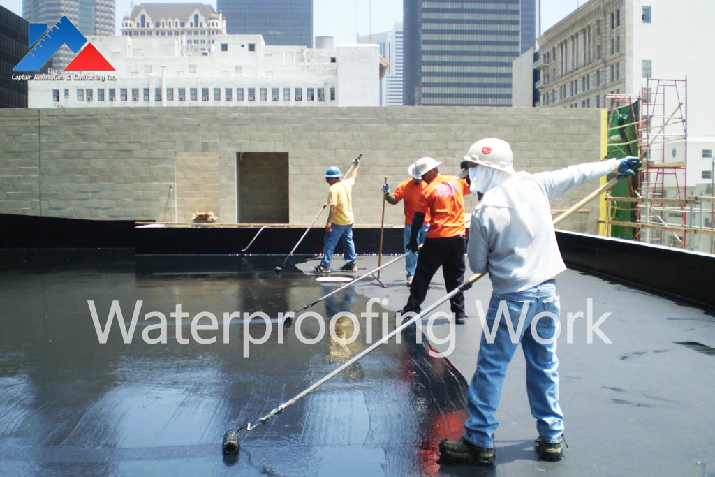 Waterproofing contracting in Brooklyn, Manhattan